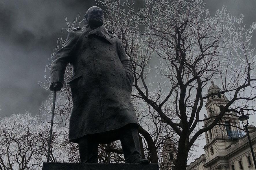 Statue of Winston Churchill in London - image: Pixabay