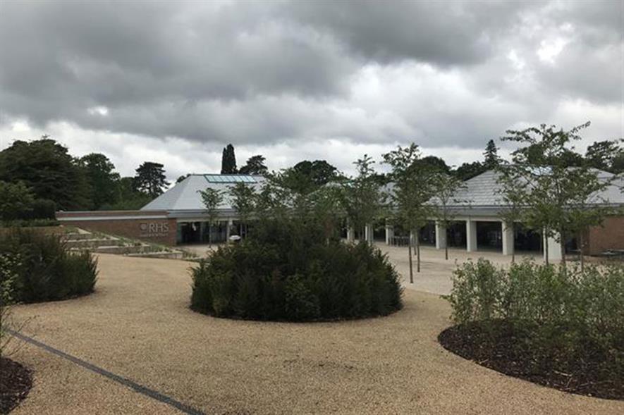 RHS Wisley Welcome Building: credit: HW