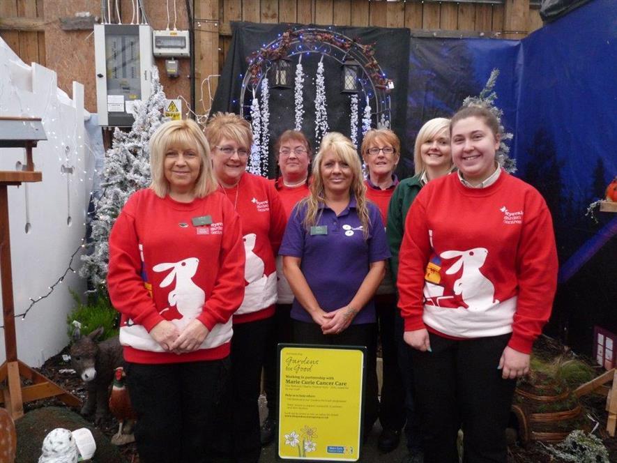 Swansea Wyevale Garden Centre staff