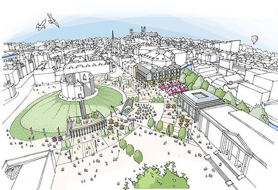 BDP York masterplan