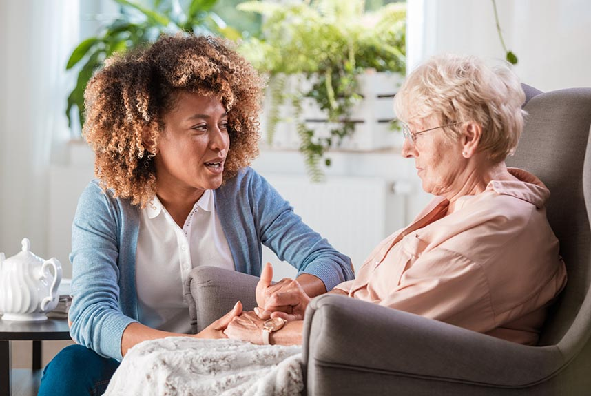 Patients should have early and ongoing conversations about end-of-life care in the last phase of life (Picture: izusek/Getty Images)