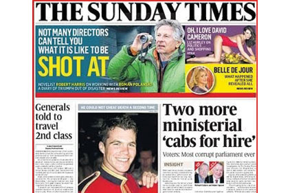 Scoop: Claire Newell was behind this front page story - and many others