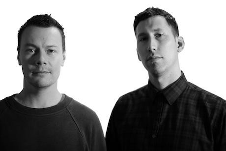 Mat Rawlins (left) and Alex Wood
