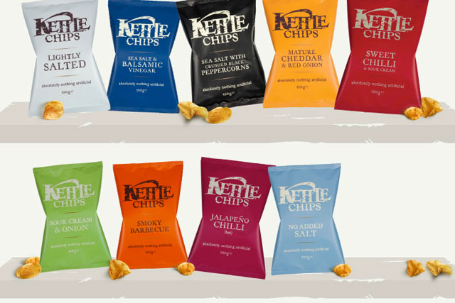 Kettle Chips: sold more than 100 million packs in 2011