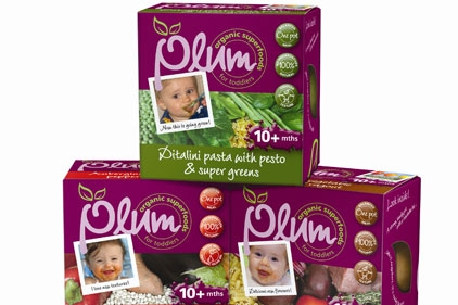 Bondy resigns account: Plum baby food