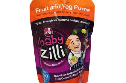 Organic baby food: Baby Zilli