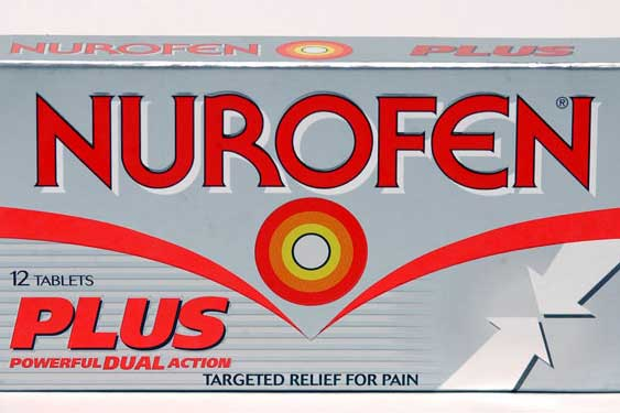 Nurofen Plus: may have been filled with an anti-psychotic drug