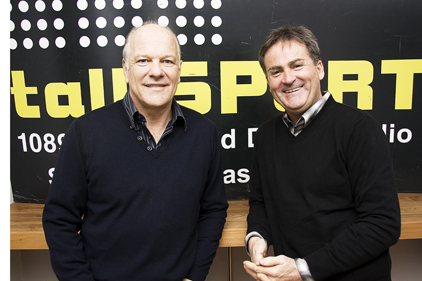 Profile boost: TalkSport's new signings Andy Gray and Richard Keys