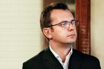 Andy Coulson: under arrest