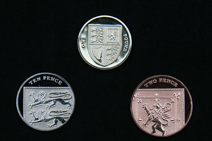 New coins: The Royal Mint