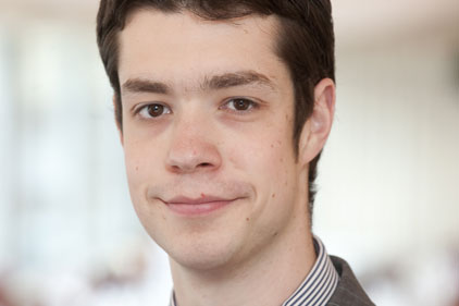 Tom Fern: newly appointed comms manager