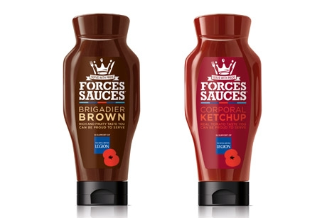 Forces Sauces: launching in Tesco on 10 June