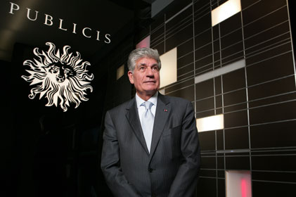 Jump in revenue: Publicis' CEO Maurice Levy