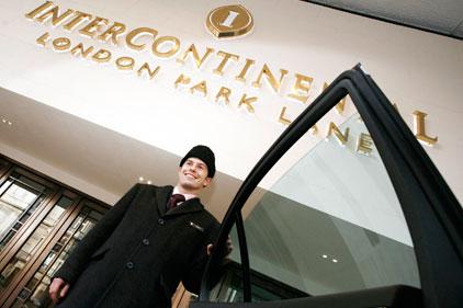 London: InterContinental hotel