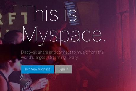 MySpace: Brings in PR support