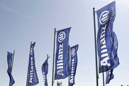 In discussions with three agencies: Allianz