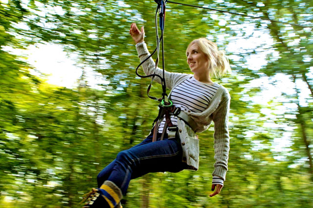 Go Ape: Berkeley PR was called in to help boost the popularity of the tree-top attraction