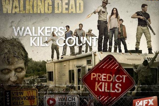 The Walking Dead: Red Bee Media's TV companion app