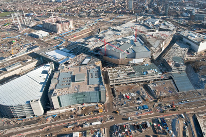 Under construction: Westfield Stratford City