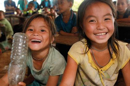 Plan UK's target: girls in developing countries