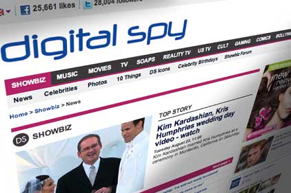 Digital Spy: moving away from its main focus on entertainment news