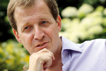 In the hot seat: Alastair Campbell