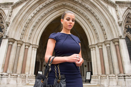 Injunction cover up: Imogen Thomas (Rex Features)