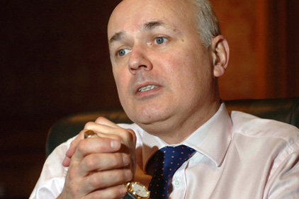 Under fire: Iain Duncan Smith's welfare reform