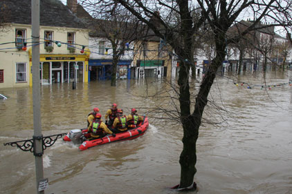 Rising tide: flood damage in Cockermouth