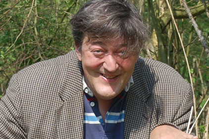 Celebrity tweeter, Stephen Fry