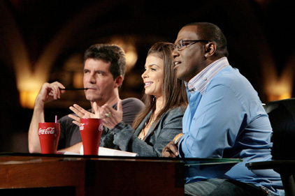 Placement: Coca-Cola features on American Idol [Pic Rex Features]