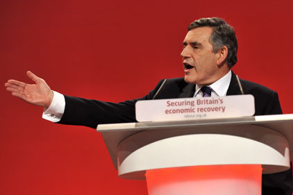 Gordon Brown: proposed budget cuts