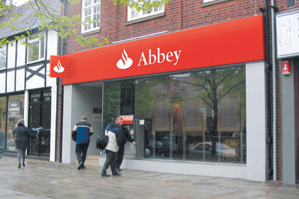 Recognisable: Abbey will be renamed Santander