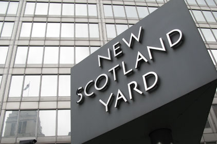 Met Police: monitoring the web