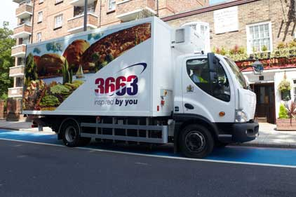 3663: aims to be a catering provider for all sectors