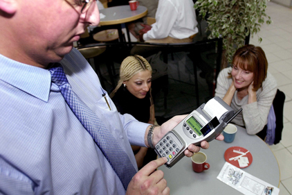 Charities pinned back: credit cards stopped