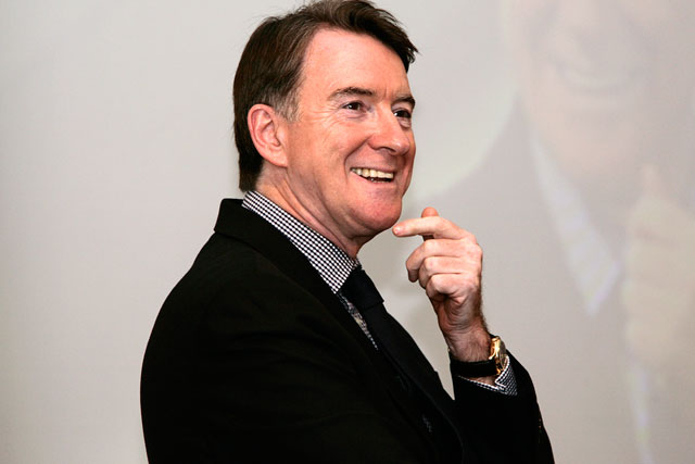 Lord Mandelson: forced to reveal he works for APP