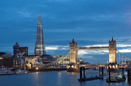 Shangri-La: Luxury hotel in The Shard