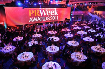 PRWeek Awards 2011: Grosvenor House Hotel
