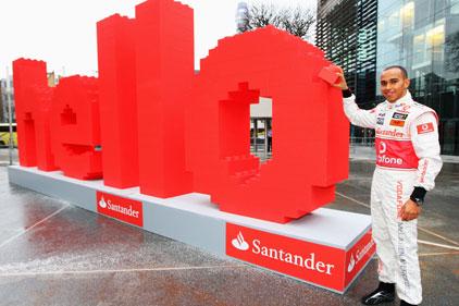 Formula One sponsor: Santander