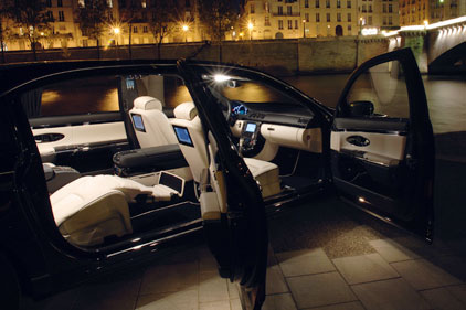 Maybach: 'exceptional car to be driven in'