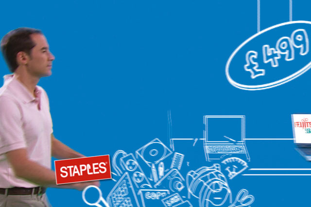 Staples: to target small businesses