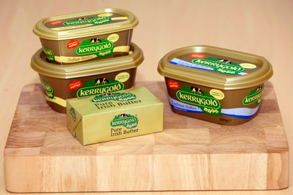 Irish butter brand: Kerrygold