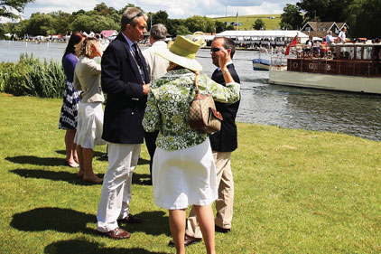Class act: Pimm's at Henley Royal Regatta