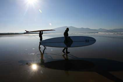 Tourism Ireland: adventure sports push