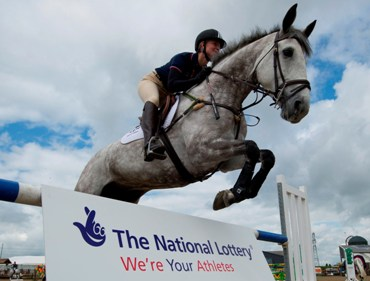 Thank you: Equestrian star Lauren Shannon was featured in the campaign