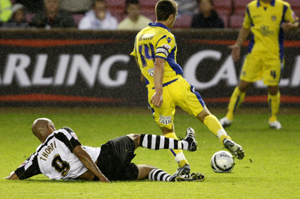 Carling Cup: Darlington succumb to Leeds United in the first round