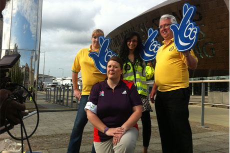 National Lottery: Gamesmakers celebrated