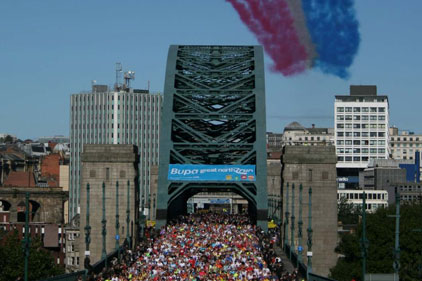 Great North Run: one of the Great Run Series