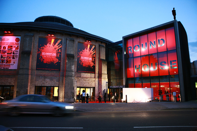 Camden's Roundhouse: is a popular local venue